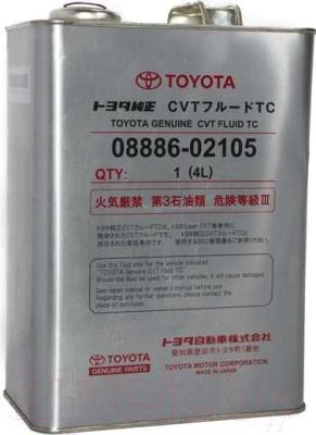 Трансмиссионное масло TOYOTA CVT Fluid TC / 0888602105 (4л)