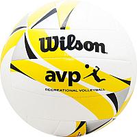 Мяч волейбольный Wilson AVP II Recreational / WTH30119XB (размер 5, белый/желтый/черный) -