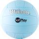 Мяч волейбольный Wilson Soft Play / WTH3501XBLU (размер 5, серебристо-голубой) -