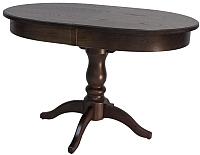 Обеденный стол Импэкс Leset Вермонт 2Р (орех шоколадный) -