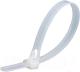 Стяжка для кабеля Fortisflex КСР 61032 (100 шт, белый) -