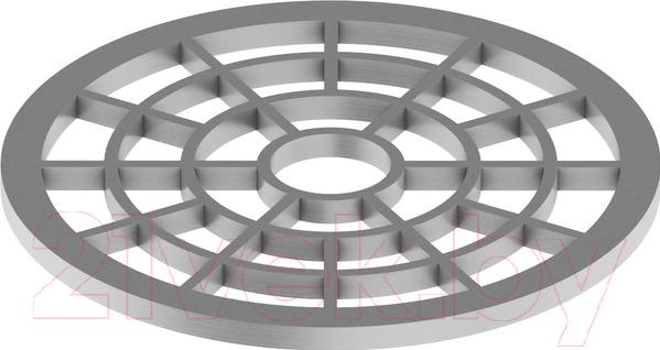 Купить Решетка для трапа TECE, 660005, Германия, нержавеющая сталь