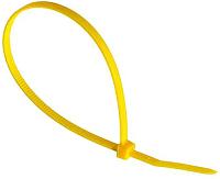 Стяжки для кабеля Fortisflex КСС 49430 (100шт, желтый) -