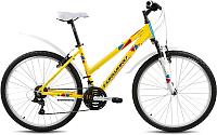 Велосипед Forward Seido 1.0 2018 / RBKW8M66P010 (17, желтый) -