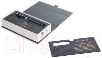 Ручка перьевая Parker Sonnet Subtle Blue Lacquer CT 1931533
