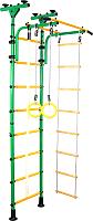 Детский спортивный комплекс Юный Атлет Пол-потолок (зеленый) -