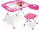 Комплект мебели с детским столом Ника NKP1/3 Маленькая принцесса  (розовый) -