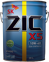 Моторное масло ZIC X5 Diesel 10W40 / 192660 (20л) -