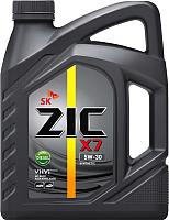 Моторное масло ZIC X7 Diesel 5W30 / 172610 (6л) -
