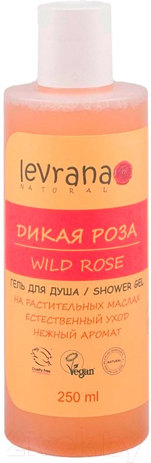 Купить Гель для душа Levrana, Дикая роза (250мл), Россия