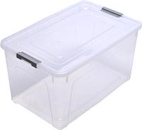 Контейнер для хранения Алеана Smart Box 123086 (прозрачный/серый) -