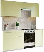 Готовая кухня Настоящая мебель Марта 2.1 (ваниль) -
