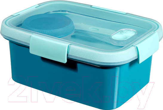 Купить Контейнер Curver, Go Luch 00947-Y33-00 / 232674 (синий), Польша, пластик