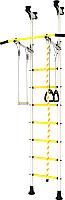 Детский спортивный комплекс Romana Распорный с регулировкой ДСКМ-2-7.00.Г6.410.14-24 (белый/желтый) -