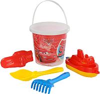 Набор игрушек для песочницы Полесье Disney/Pixar Тачки №18 / 65476 -