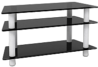 Тумба Artglass PLq 32/3/4 (gray/black) -