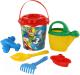 Набор игрушек для песочницы Полесье Микки и Веселые гонки №12 / 65674 -