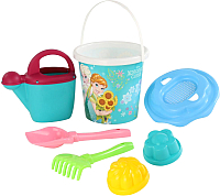 Набор игрушек для песочницы Полесье Холодное сердце №12 / 65759 -