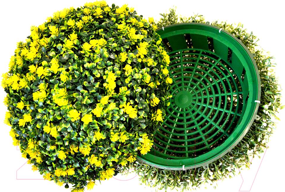 Купить Искусственное растение Green Fly, Самшит полусфера Лето / СП-4-39, Беларусь