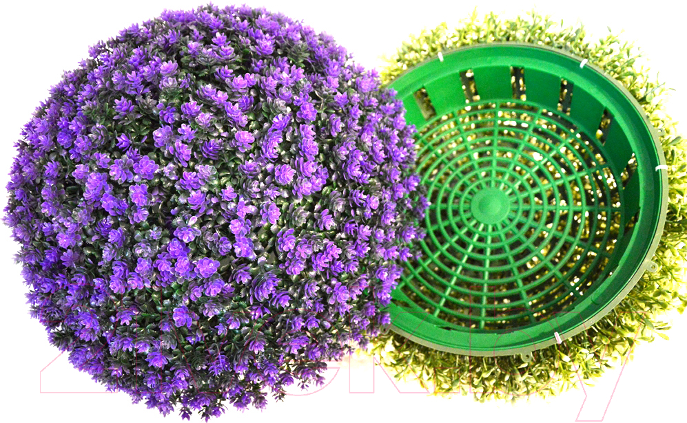 Купить Искусственное растение Green Fly, Самшит полусфера Лаванда / СП-8-39, Беларусь