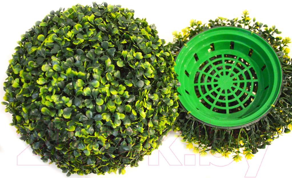 Купить Искусственное растение Green Fly, Самшит полусфера Классик / СП-10-39, Беларусь