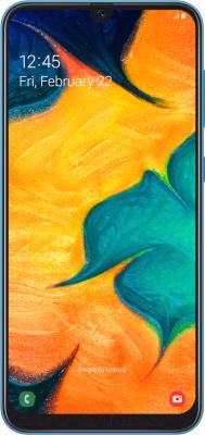 Смартфон Samsung Galaxy A30 32GB (2019) / SM-A305FZBUSER (синий)