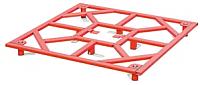 Монтажная рамка для плитки TECE 90x90x9-14 / 681090 -