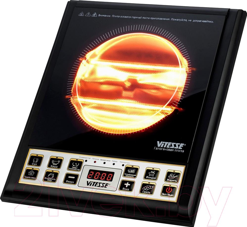 Купить Электрическая настольная плита Vitesse, VS-515, Китай, черный