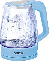 Электрочайник Vitesse VS-177 (голубой) -