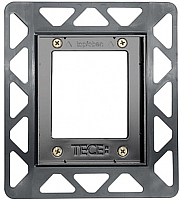 Монтажная рамка для плитки TECE Urinal для стеклянных панелей 9242647 (черный) -