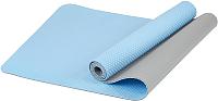Коврик для йоги и фитнеса Sundays Fitness IRBL17107 (голубой) -
