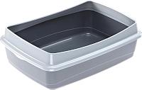 Туалет-лоток Ferplast Nip Plus 20 / 72041299 (серый) -