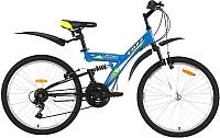 Велосипед Foxx Attac 24SFV.ATTAC.14BL9 -