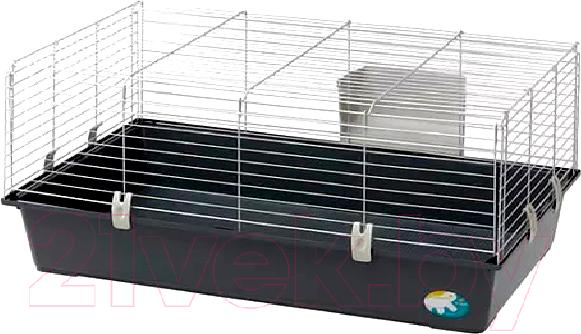 Купить Клетка для грызунов Ferplast, Rabbit 100 New / 57052370EL (бюджет, черный), Италия