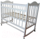 Детская кроватка Мой Малыш 1 (белый) -