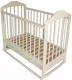 Детская кроватка Мой Малыш 7 (слоновая кость) -