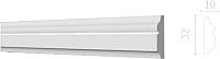 Молдинг Decor-Dizayn DD603 (32x10x2000) -