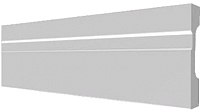 Молдинг Decor-Dizayn DD01 (70x19x2000) -