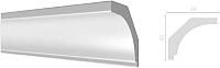 Плинтус потолочный Decor-Dizayn DD13 (48x40x2000) -