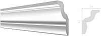 Плинтус потолочный Decor-Dizayn DD22 (42x29x2000) -