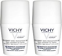 Набор косметики для тела Vichy Дезодорант шариковый для очень чувствительной кожи 48 часов (50мл+50мл) -