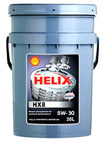 Моторное масло Shell Helix HX8 Synthetic 5W30 (20л) -