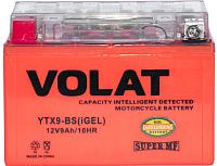 Мотоаккумулятор VOLAT YTX9-BS iGEL L+ (9 А/ч) -