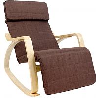 Кресло-качалка Calviano Relax F-1103 (коричневый) -