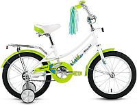 Детский велосипед Forward Azure 2019 / RBKW9LNG1008 (16, белый) -