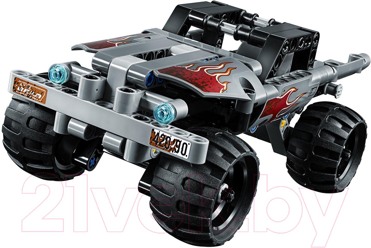 Купить Конструктор инерционный Lego, Technic Машина для побега 42090, Китай, пластик