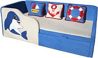 Кровать-тахта М-Стиль Дельфин (левая) -