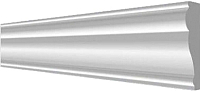 Молдинг Decor-Dizayn 161 A (60x20x2000) -