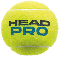 Набор теннисных мячей Head Pro 3B / 571603 (3шт, желтый) -