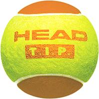 Набор теннисных мячей Head T.I.P Orange / 578123 (3шт, желто-оранжевый) -